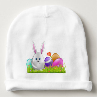 Happy Easter Bunny Baby Beanie