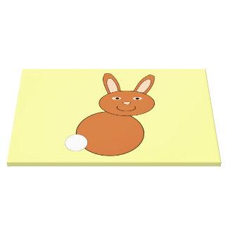 Happy Easter Bunny Canvas Pri