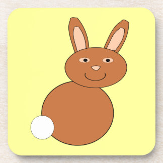 Happy Easter Bunny Coaster
