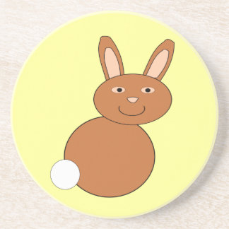 Happy Easter Bunny Coasters