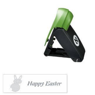 Happy Easter Bunny Custom Ink Stamp