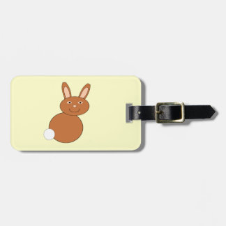 Happy Easter Bunny Custom Luggage Tag