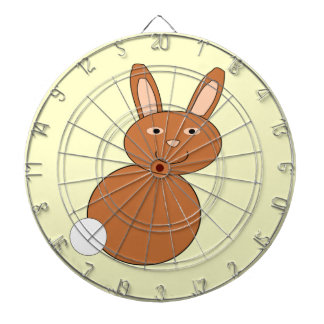 Happy Easter Bunny Dart Board
