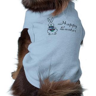 Happy Easter Bunny Egg Sleeveless Dog Shirt