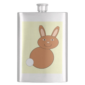 Happy Easter Bunny Flasks