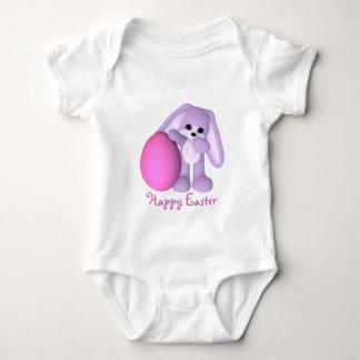 Happy Easter Bunny Giant Egg Baby Bodysuit