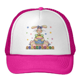Happy Easter Bunny Hat