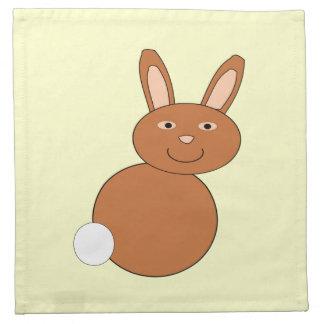 Happy Easter Bunny Napkin