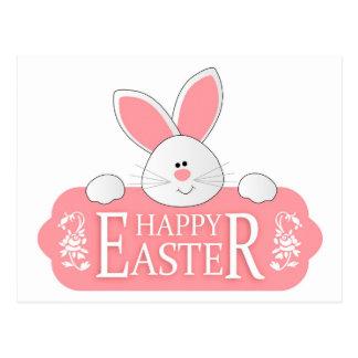Happy Easter Bunny Postcard