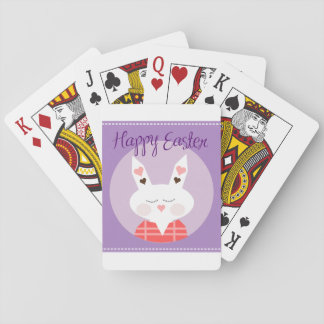Happy Easter Bunny Standard Playing Cards