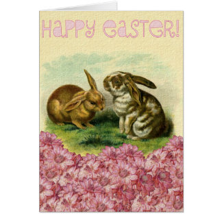 Happy Easter Bunny Stationery Note Card