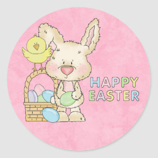 Happy Easter Bunny Sticker