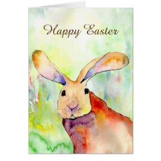 Happy Easter card (a452) title=