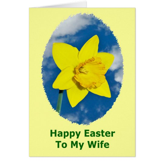 Happy Easter Card for Wife