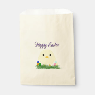 Happy Easter Chick Favour Bags
