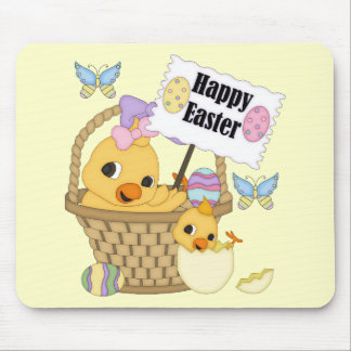 Happy Easter Chick Mouse Pad