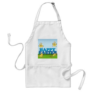 Happy Easter Chicks Standard Apron