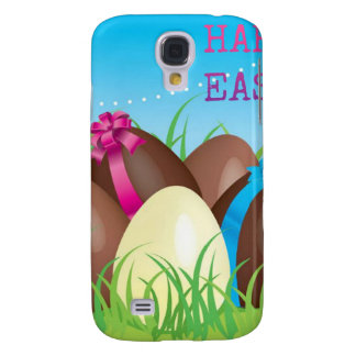 Happy Easter Choclate Eggs Galaxy S4 Case