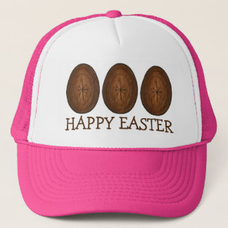Happy Easter Chocolate Egg Hunt Eggs Candy Hat