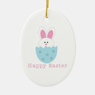 Happy Easter Christmas Ornament