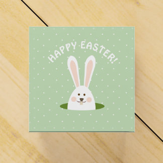 Happy Easter Cute Bunny Favour Box