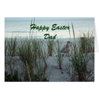 Happy Easter Dad Greeting Card