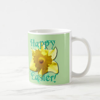 Happy Easter, Daffodil 01.2.5.T Coffee Mug