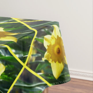 Happy Easter, Daffodil 6.0 Tablecloth