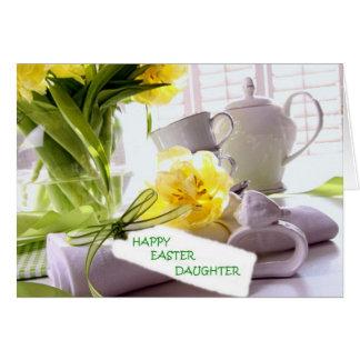 HAPPY EASTER DAUGHTER U R LOVED CARD
