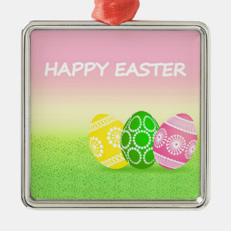 Happy Easter Christmas Ornaments