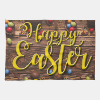 Happy Easter Design Kitchen Towel
