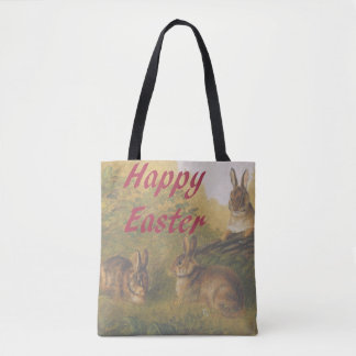 Happy Easter double-sided Tote Bag