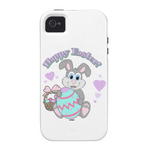 Happy Easter! Easter Bunny iPhone 4 Cover