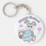 Happy Easter! Easter Bunny Keychains