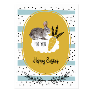 Happy Easter. Easter Bunny Postcards