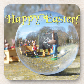 Happy Easter! Easter Bunny school 02.0.T Coaster