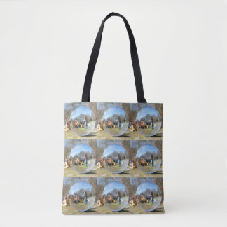Happy Easter! Easter Bunny school 02.2.2 Tote Bag