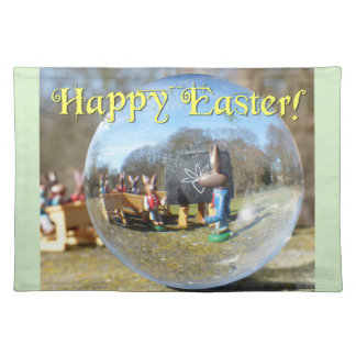 Happy Easter! Easter Bunny school 02.2.T Placemat