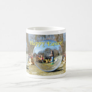 Happy Easter! Easter Bunny school 02.3.3T Coffee Mug