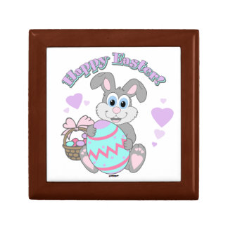Happy Easter! Easter Bunny Small Square Gift Box