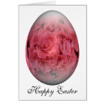 happy easter egg azalea greeting card