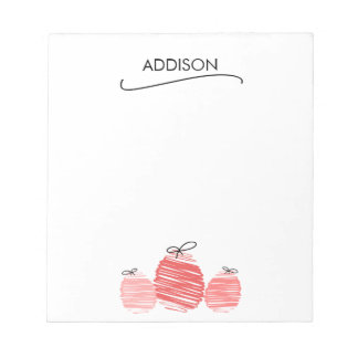 Happy Easter Egg Doodle Notepad