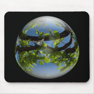 happy easter egg young leaves mousepads