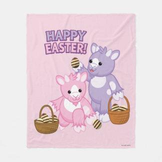 Happy Easter! Fleece Blanket