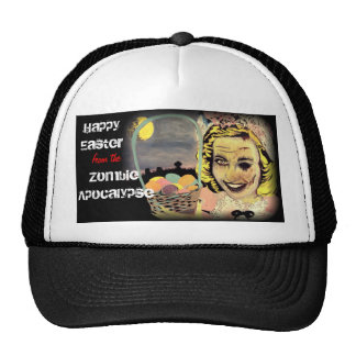 'Happy Easter from the Zombie Apocalypse' Trucker Cap