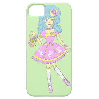 Happy Easter Girl Green iPhone 5 Covers