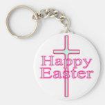 Happy Easter Glow Key Chain