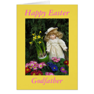 Happy Easter Godfather Card