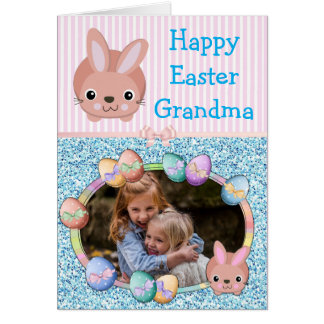 Happy easter to grandma gifts on zazzle uk happy easter grandma personalized card negle Gallery