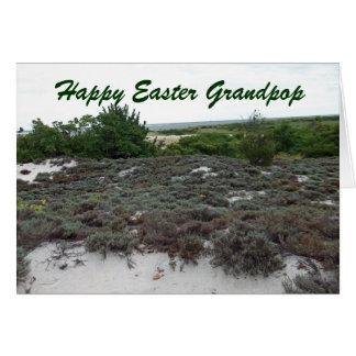 Happy Easter Grandpop Greeting Card